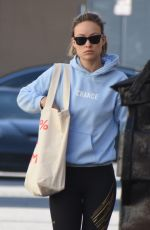 OLIVIA WILDE Heading to a Gym in Los Angeles 02/06/2018