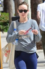 OLIVIA WILDE Heading to a Gym in Los Angeles 02/27/2018