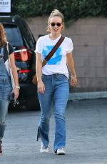 OLIVIA WILDE in Jeans Out in Los Angeles 02/05/2018