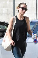 OLIVIA WILDE Leaves a Gym in Los Angeles 02/13/2018