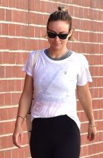 OLIVIA WILDE Leaves a Gym in Studio City 02/09/2018