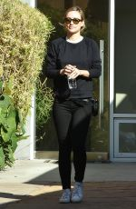 OLIVIA WILDE Out and About in Los Angeles 02/01/2018