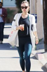 OLIVIA WILDE Out and About in Los Angeles 02/13/2018