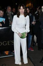 OPHELIA LOVIBOND at London Evening Standard British Film Awards in London 02/08/2018
