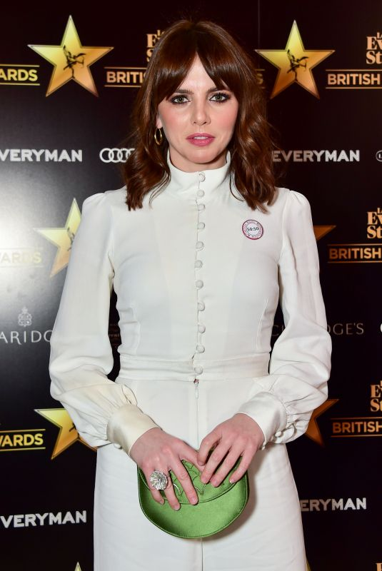 OPHELIA LOVIBOND at London Evening Standard British Film Awards in London 02/08/2018