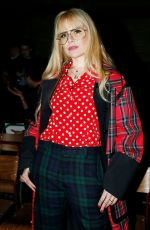 PALOMA FAITH Arrives at Burberry Show at London Fashion Week 02/17/2018