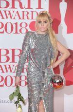 PALOMA FAITH at Brit Awards 2018 in London 02/21/2018