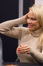 PAMELA ANDERSON at 25th Paris Manga and Sci-fi Show in Paris 02/03/2018