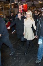 PAMELA ANDERSON Out and About in Paris 02/03/2018