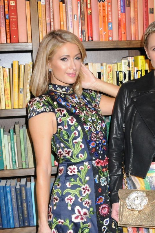 PARIS and NICKY HILTON at Alice + Olivia Fashion Show at NYFW in New York 02/13/2018