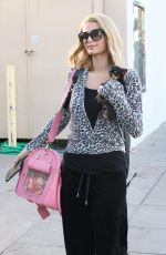 PARIS HILTON Heading to a Spa in West Hollywood 02/07/2018