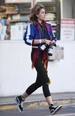 PARIS JACKSON at a Gas Station in Los Angeles 02/22/2018