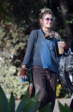 PARIS JACKSON Out for Coffee in Los Angeles 02/04/2018