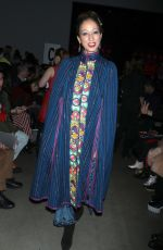 PAT CLEVELAND at Anna Sui Fall/Winter 2018 Fashion Show at NYFW in New York 02/12/2018