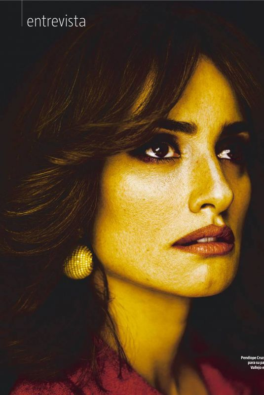 PENELOPE CRUZ in La Vanguardia Magazine, March 2018