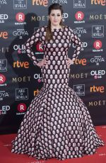 PEPA CHARRO at 32nd Goya Awards in Madrid 02/03/2018