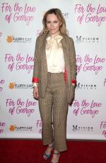 PETRA BRYANT at For the Love of George Premiere in Los Angeles 02/12/2018