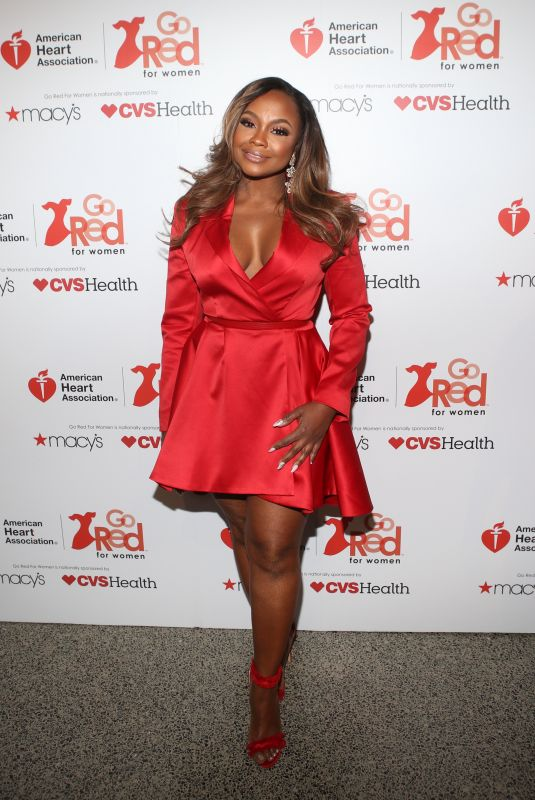 PHAEDRA PARKS at Go Red for Women Red Dress Collection 2018 Presented by Macy's in New York 02/08/2018