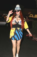 PHOEBE PRICE Night Out in Calabasas 02/02/2018