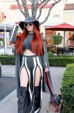 PHOEBE PRICE Out in Calabasas 02/21/2018