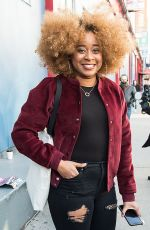 PHOEBE ROBINSON Arrives at Creatures of Comfort Fashion Show in New York 02/08/2018