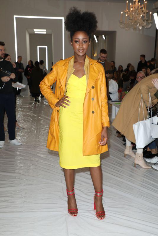 PIPPA BENNETT-WARNER at Jasper Conran Show at London Fashion Week 02/17/2018