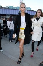 POPPY DELEVINGNE Arrives at Burberry Show at London Fashion Week 02/17/2018
