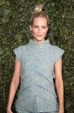 POPPY DELEVINGNE at Charles Finch & Chanel Pre-bafta Party in London 02/17/2018