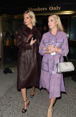 POPPY DELEVINGNE Leaves Bottega Veneta Show at New York Fashion Week 02/09/2018