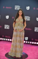 Pregnant ANA PATRICIA GAMEZ at Premio Lo Nuestro Awards 2018 in Miami 02/22/2018