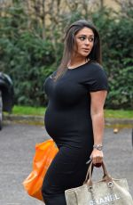Pregnant CASEY BATCHELOR Out Shopping in Essex 02/28/2018