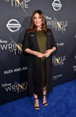 Pregnant EVA LONGORIA at A Wrinkle in Time Premiere in Los Angeles 02/26/2018