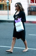 Pregnant EVA LONGORIA Out in Beverly Hills 02/22/2018