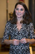 Pregnant KATE MIDDLETON at Commonwealth Fashion Exchange Reception in London 02/19/2018