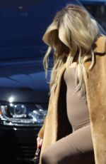 Pregnant KHLOE KARDASHIAN Arrives at a Baby Shop in Los Angeles 02/21/2018