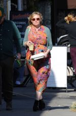 Pregnant KIRSTEN DUNST and Jesse Plemons at Proof Bakery in Los Angeles 02/26/2018