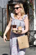 Pregnant KIRSTEN DUNST Out in Los Angeles 01/31/2018