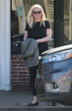 Pregnant KIRSTEN DUNST Out in Los Angeles 02/20/2018