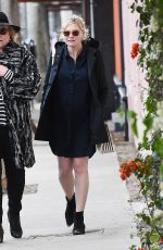 Pregnant KIRSTEN DUNST Out Shopping in Los Angeles 02/27/2018