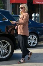 Pregnant KIRSTEN DUNST Picks Up Her Car from a Valet in West Hollywood 02/13/2018