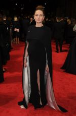 Pregnant REBECCA FERGUSON at BAFTA Film Awards 2018 in London 02/18/2018