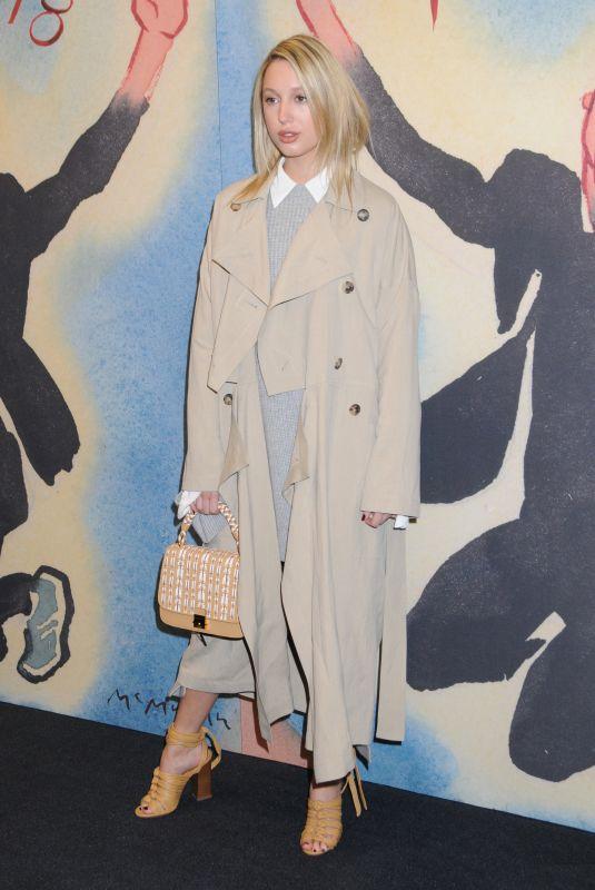 PRINCESS MARIA-OLYMPIA at Michael Kors Show at New York Fashion Week 02/14/2018