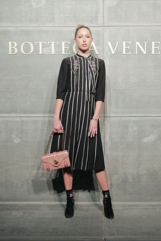 PRINCESS MARIA-OLYMPISA OF GREECE AND DENMARK at Bottega Veneta Show at New York Fashion Week 02/09/2018