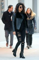 PRIYANKA CHOPRA Out and About in New York 02/14/2018