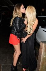 RACHAEL RHODES and MELISSA REEVES Night Out in Liverpool 02/03/2018
