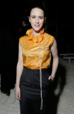 RACHEL BROSNAHAN at Calvin Klein Fashion Show at NYFW in New York 02/13/2018