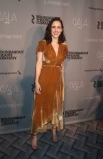 RACHEL BROSNAHAN at Roundabout Theatre Company Gala 2018 in New York 02/26/2018