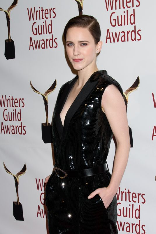 RACHEL BROSNAHAN at Writers Guild Awards 2018 in Beverly Hills 02/11/2018