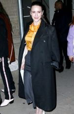 RACHEL BROSNAHAN Out and About in New York 02/13/2018