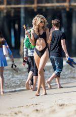 RACHEL MCCORD in Bikini at a Beach in Santa Monica 02/17/2018